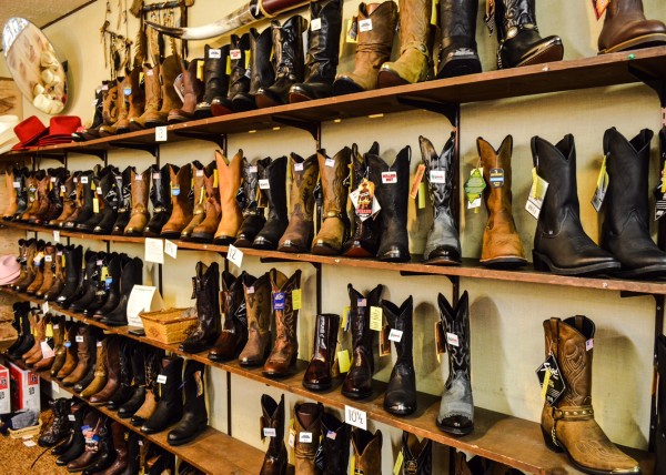 Boots, of all shapes and sizes, have always been a popular item at Hiawatha's.