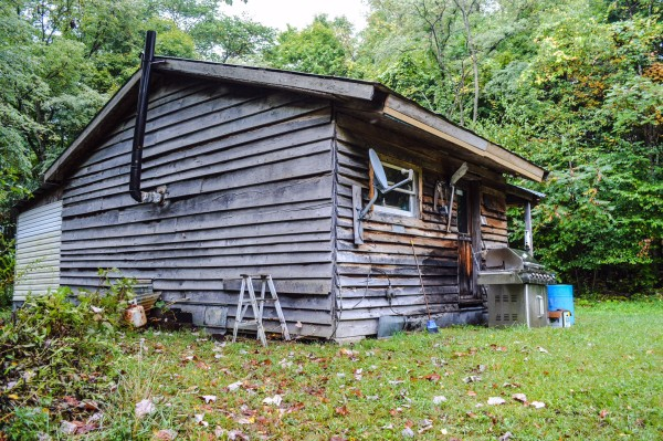 Morici will spend much of the fall and winter months at this private hunting camp.