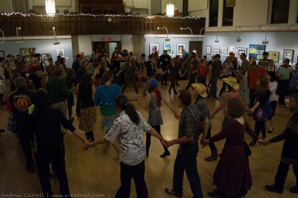 Elkins Halloween Square Dance at the Randolph County Community Arts Center. Photo by Andrew Carroll.