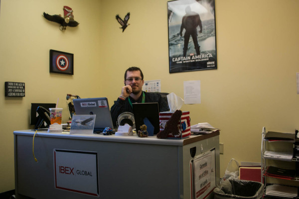 Jeff has worked at iBEX Global in Elkins since its opening in 2010.