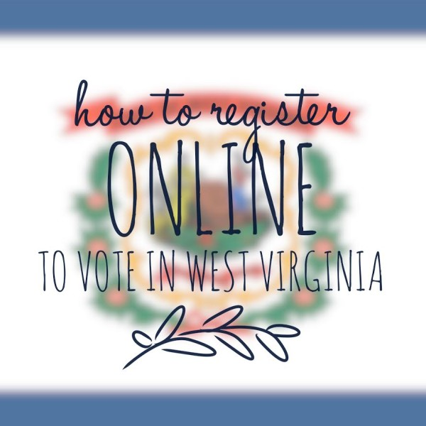 WV voter registration